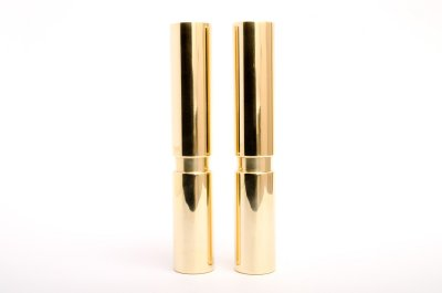 furniture legs in polished brass